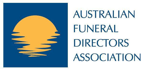 AFDA logo funerals swan hill